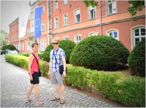 Heading to the factory in Meissen