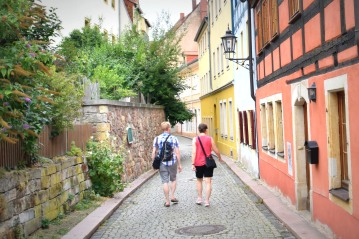 walking through the town of Meissen