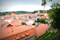 coming down into Meissen