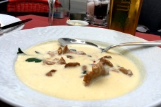 Chanterelle soup