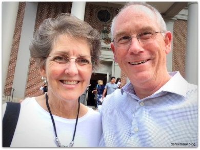 On our 40th - worship at 1st Pres Wilson