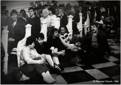 1989 - inside the church
