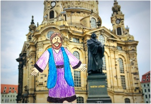 meeting up with Martin Luther in Dresden