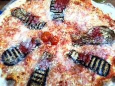 Eggplant pizza!