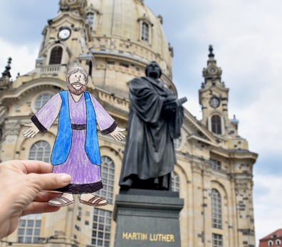 """""""Flat Jesus"""" and Martin Luther"""