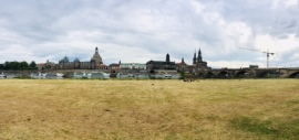 Dresden from across the Elbe