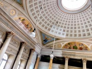 the main ballroom