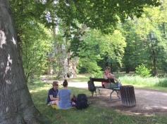 picknick in the schloss