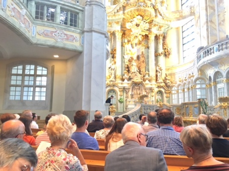 Worship at the Frauenkirche