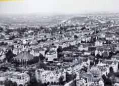 neighborhood prior to 1945 bombing