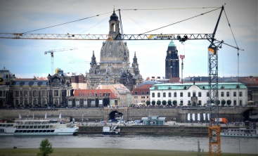 Frauenkirche from across the Elbe