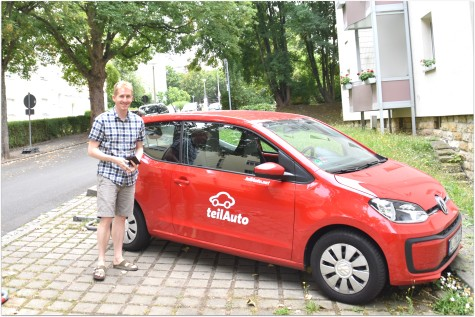self-drive ride share when the need arises