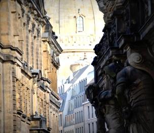 walking in Dresden