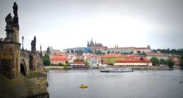 Prague from Charles Bridge