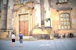 Andrew and Rebekah in Dresden