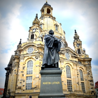 Luther outside the Frauenkirche