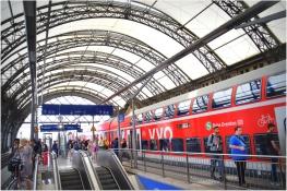 Dresden main rail station