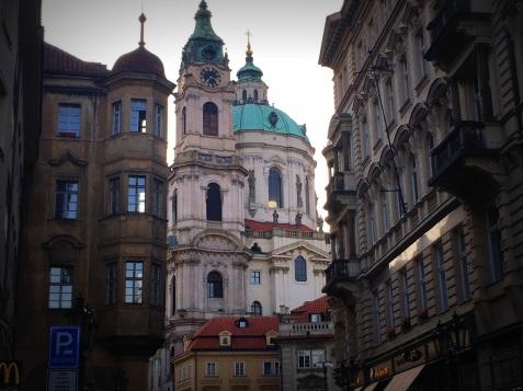 St Nicholas in Prague