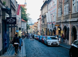 Prague Old Town - last night in Europe