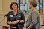 new co-pastors at University Presbyterian in Chapel Hill