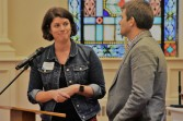 new co-pastors at University Presbyterian in Chapel Hill