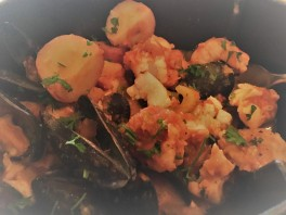 """fisherman's casserole"" at Farm Table"