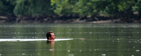 man-in-river