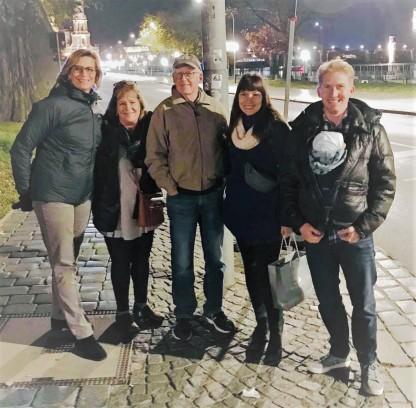 Karin, Lynn, Ben, Alicia, Andrew (Mr T)