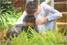 June - a sad goodbye to Scoutie