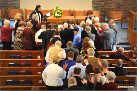 Naomi ordained as an elder in Richmond
