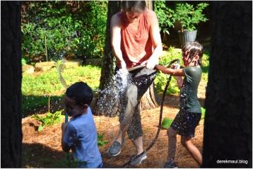 summer fun with the children