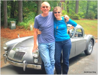 summer fun with Rebekah (our friends' classic cars)