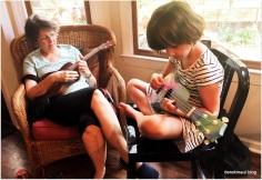 ukulele fun with the Beks