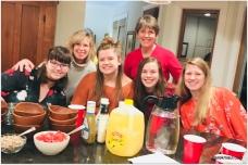 hosting WFPC teens for dinner