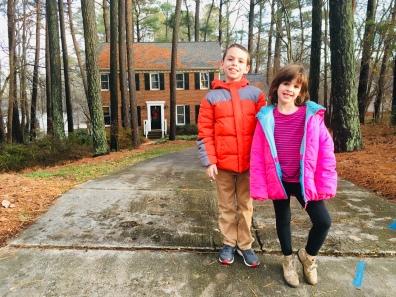 December - David and Beks visiting