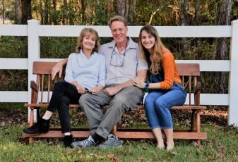 Joe Alexander family (Cheryl and Lindsay)