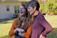 Rebekah with Lindsay Alexander