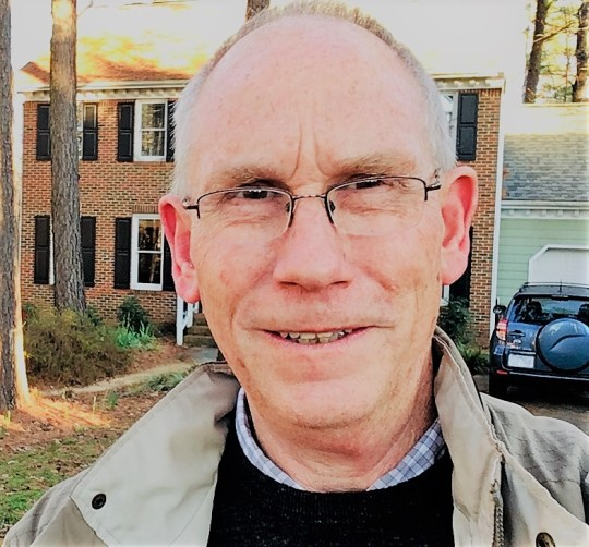 author Derek Maul lives and writes in North Carolina