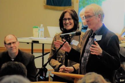 newly retired clergy couple