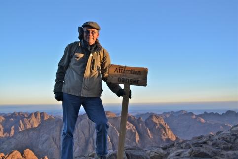 me up on Mt Sinai