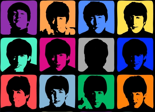 beatles-pop-art