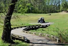 bridge to second green