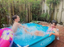 kids happy in Miami