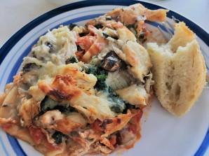chicken lasagna (Deidra Mayo)
