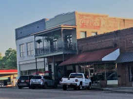 The new old building in Houston, MS